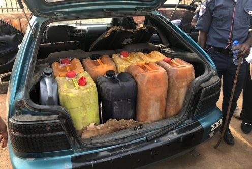 NNPC GMD leads sting operation to illegal petrol reservoir in Abuja