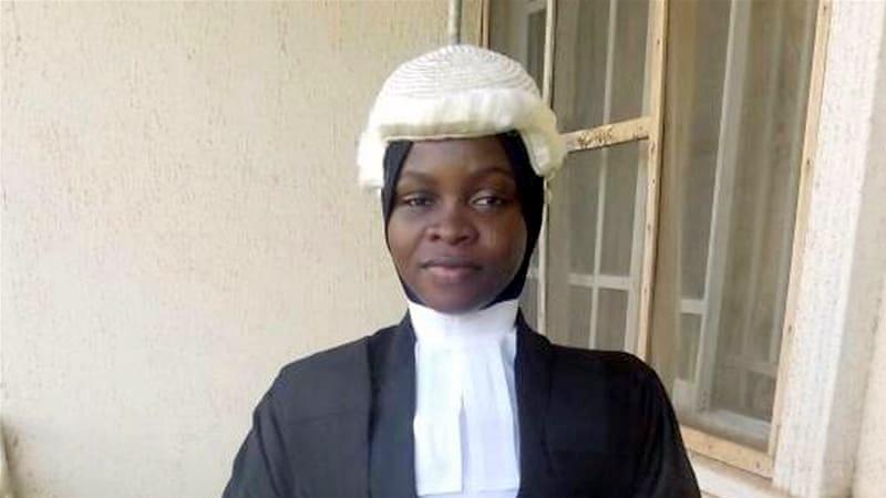 Nigerian Law School graduate, Amasa Firdaus