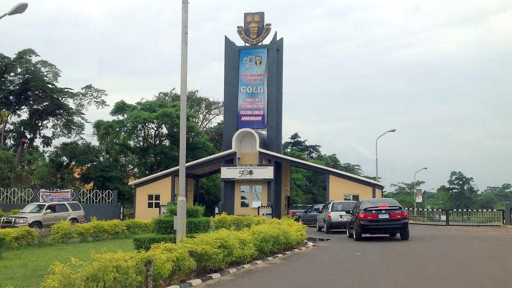 Main Entrance, Obafemi Awolowo University (OAU). Photo: Premium Times