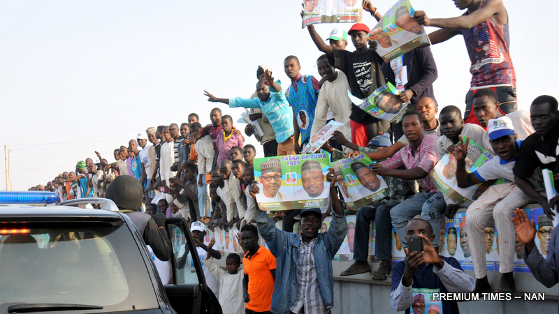 Pic 42. KANO WELCOMES BUHARI IN A GRAND STYLE