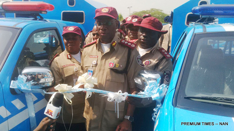 Pic.24. FRSC launches additional vehicles for Operation Cobra exercise in Abuja