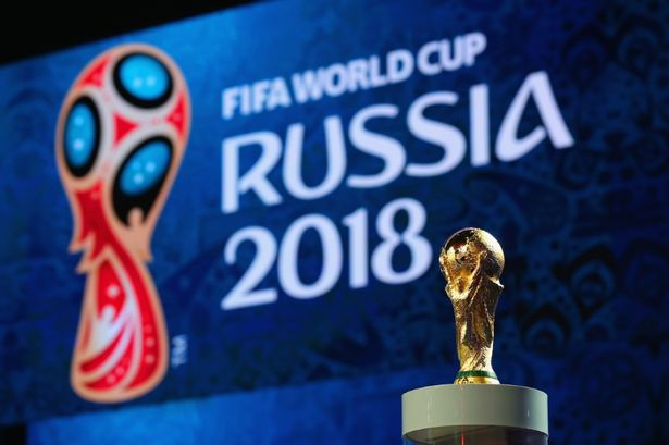 Russia World cup 2018. [Photo credit: Daily Mirror]