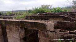 Upper view of an incomplete and abandoned Nigerian PHC (Photo taken by Ebuka Onyeji)