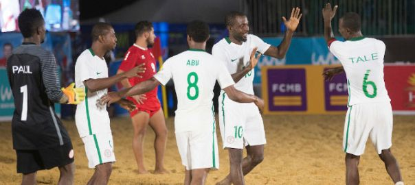 2017 COPA Lagos Beach Soccer Tournament , Supersand Eagles Team