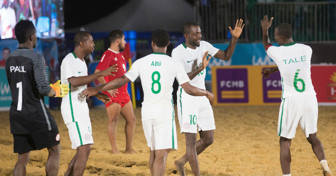 FILE PHOTO: 2017 COPA Lagos Beach Soccer Tournament , Supersand Eagles Team