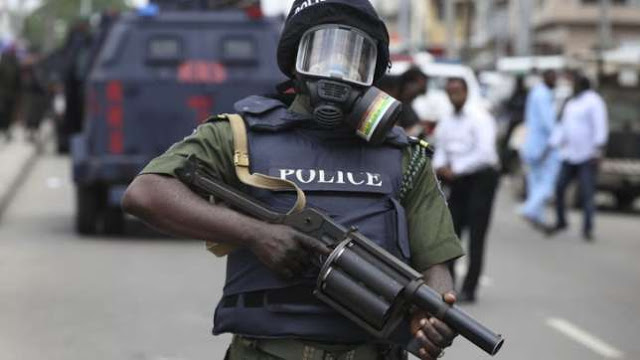 armed nigeria police