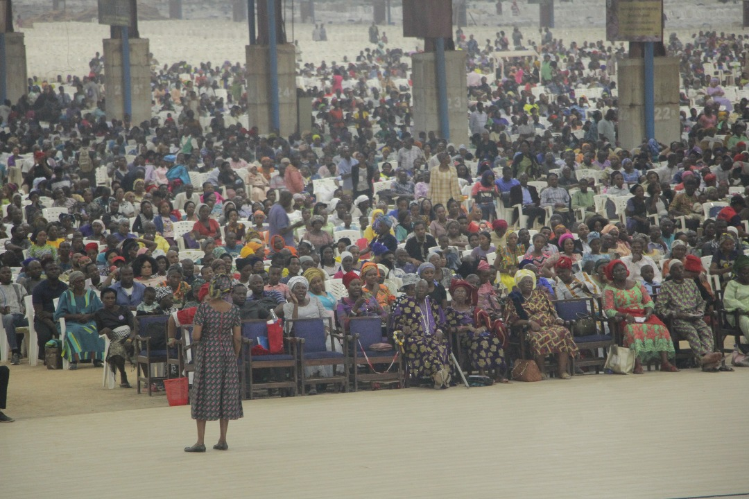 Cross-Over Service held at its Redemption Camp. [Photo credit: Segun Komolafe, CEO SK enhanced image ventures]
