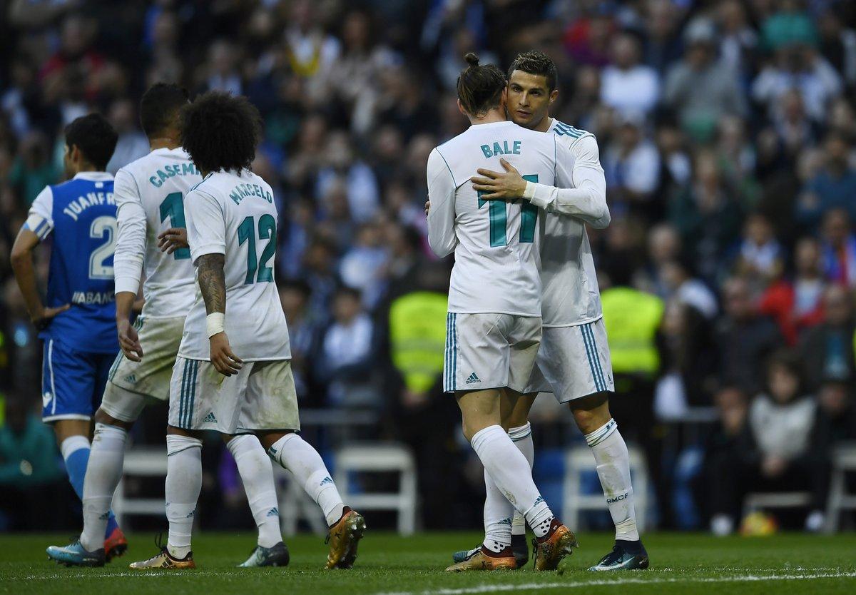 Cristiano Ronaldo left bloody face as Real Madrid thrash Deportivo