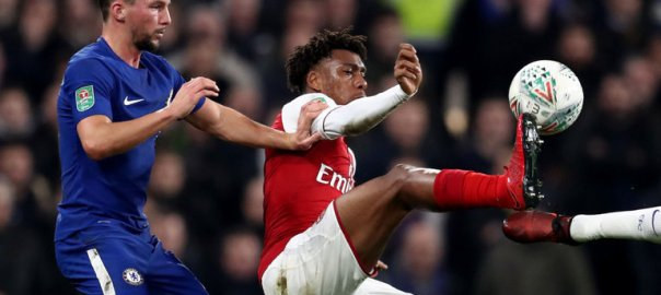 Alex Iwobi [Photo Credit: Sky Sport]