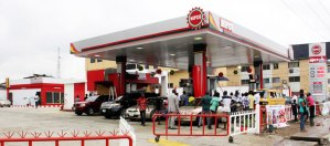 A NIPCO filling station used to illustrate the story on authentic data