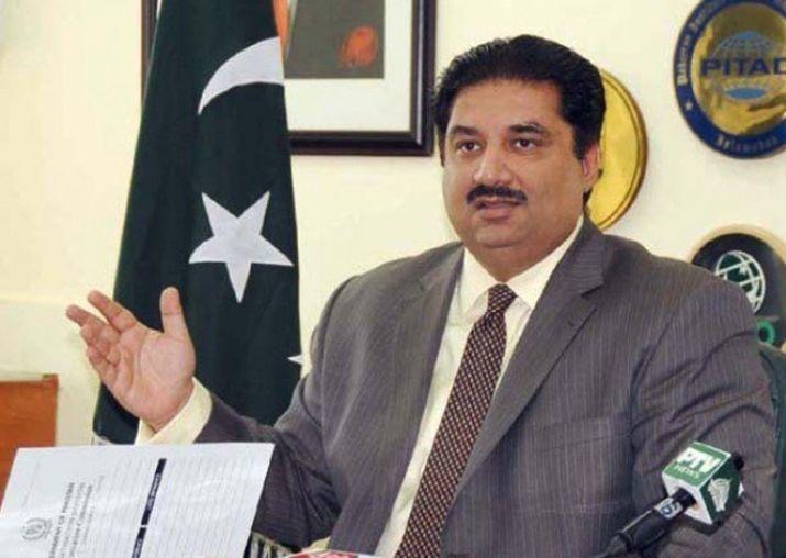 Pakistani Defence Minister, Khurram Khan,