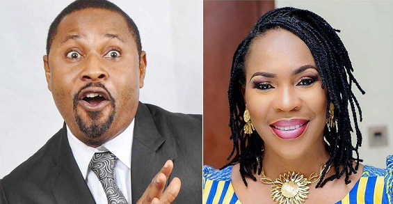Saidi Balogun and Fathia Williams [Photo: YabaLeftOnline] shared by medianet.info
