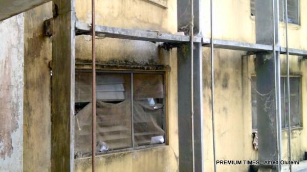 Dilapidated hostels in OAU