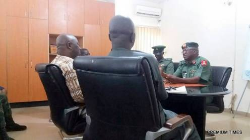 Defence spokesperson visits PREMIUM TIMES, seeks warmer ties with Nigerian military