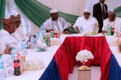 President Muhammadu Buhari with APC Governors