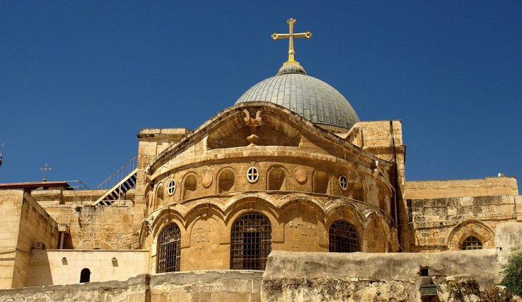 Jew Detector: Church Of Holy Sepulchre Reopens After Three-day Protest