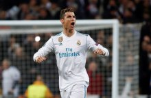 Cristiano Ronaldo celebrates after scoring (Photo Credit: La Liga, Twitter)