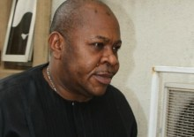Suspected serial fraudster, Fred Ajudua. [Photo credit: PM News Nigeria]