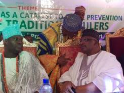 Ooni of Ife, Adeye Ogunwusi and the Oluwo of Iwo, Abdulrasheed Akanbi