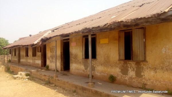 Dilapitated Oyo school