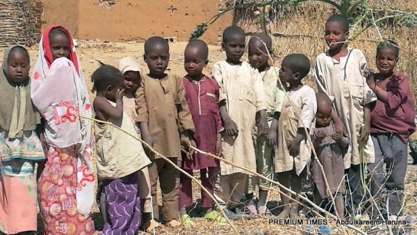 Out of school kids in Shuwari-Tomri