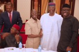PRESIDENT BUHARI CHAIRS 4TH NAT APC CAUCUS MEETING 12