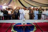 President Muhammadu Buhari launches the Tsaigumi Drone