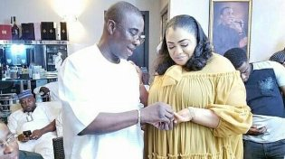 Kwam 1 weds long-time partner Fathia Opeyemi