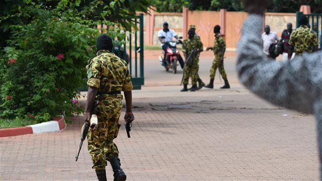 Burkina Faso soldiers (Photo Credit: PressTV)
