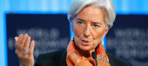 IMF Managing Director (MD), Christine Lagarde