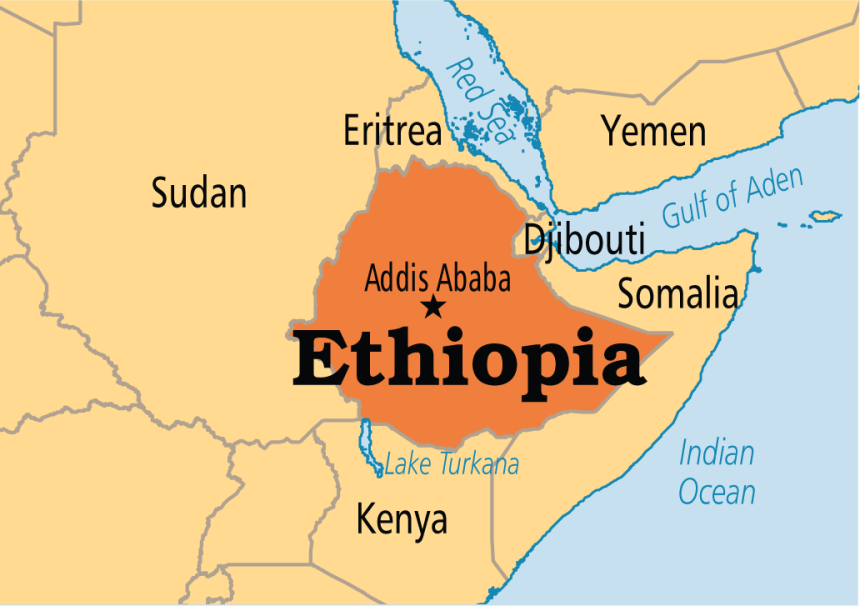 Where Is Ethiopia On The Map Ethiopian Customs to seize undeclared currencies above $3,000 from