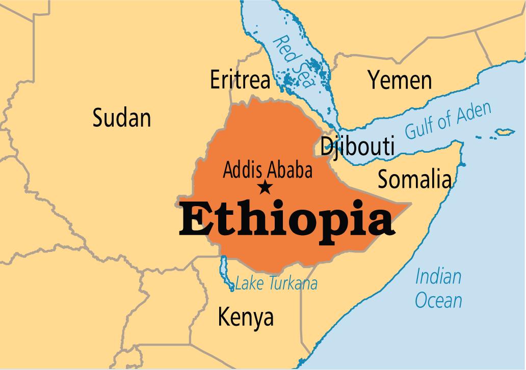 Capital Of Ethiopia Map Unrest in Eastern Ethiopia city leaves 10 dead   Premium Times Nigeria