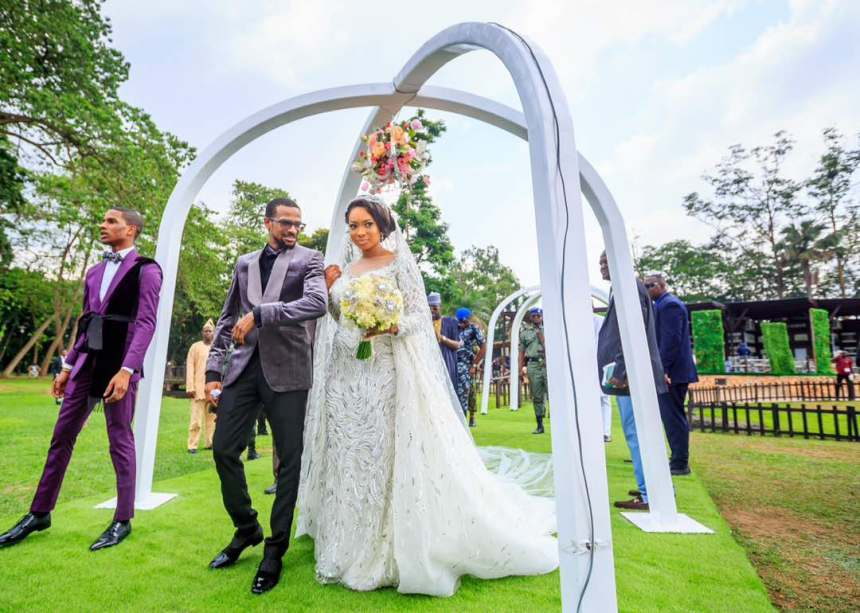 Photo Story Osinbajo Wife Aisha Buhari Governors Ministers