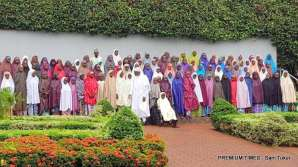 Buhari receives #Dapchigirls