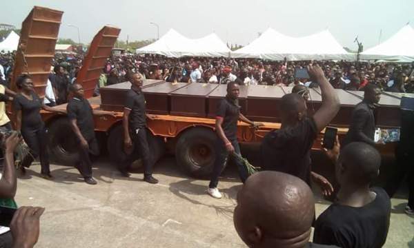 MAss Burial for Victims of Benue Killings (Photo Credit:
