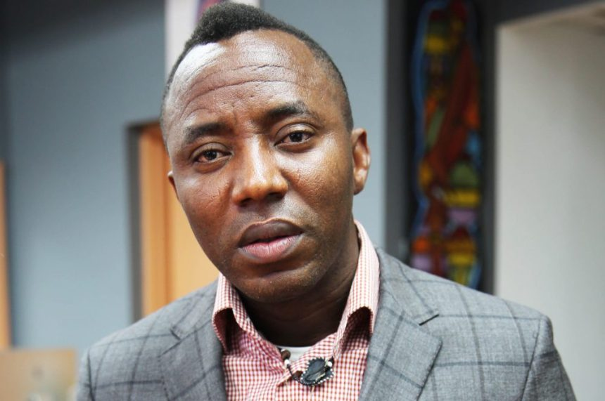The Publisher of popular news website, Sahara Reporters, Omoyele Sowore