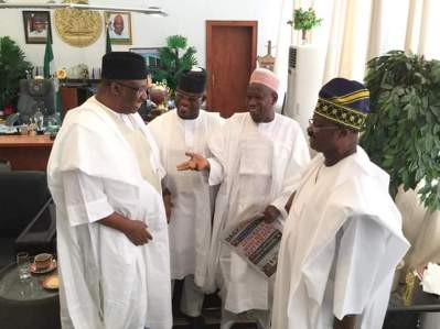 Special Guest Of Honours Have Begin To Arrive Kano For The Wedding Fatiha Of @GovUmarGanduje's Daughter, Fatima And Gov. @AAAjimobi's Son Idris Abiola Ajimobi Which Will Take Place Today At Emir Muhammadu Sanusi II Place, Kano.