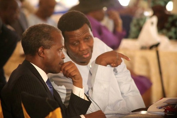 Image result for Adeboye leads RCCG in thanksgiving for Osinbajo after crash