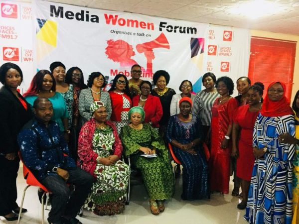 Some members of Media Women Forum with guest speakers