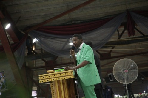 Pastor Adeboye @ Special Holy Ghost Service on Friday. Pictures by Segun Komolafe, CEO, SKENHANCED IMAGE VENTURES