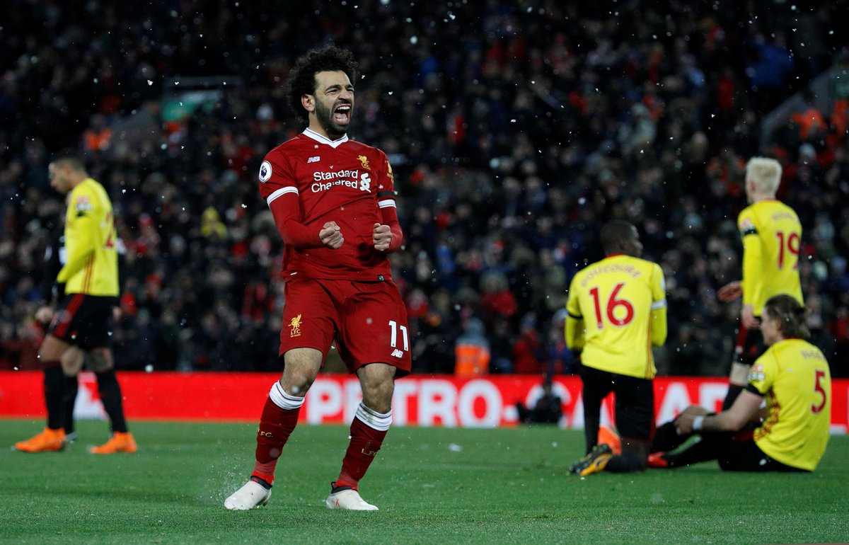 Liverpool star Salah is