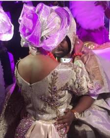 Gabriel Afolayan's wedding 'shuts down' Ibadan