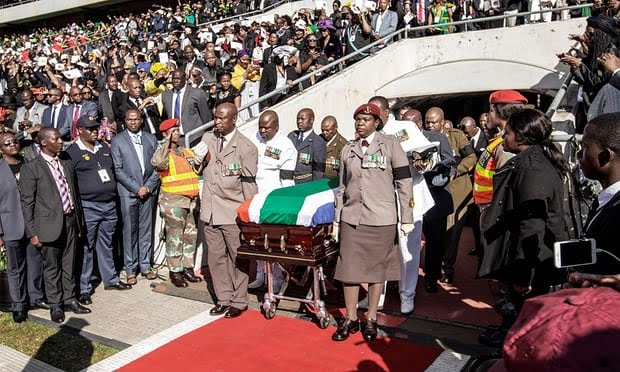 South Africa bids farewell to Winnie Madikizela-Mandela