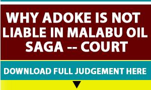 Malabu-Adoke Advert