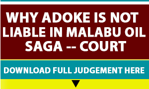Malabu-Adoke Advert