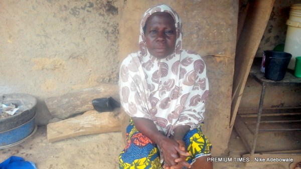 Hannatu Busala, a Traditional Birth Attendant at Shere Koro community