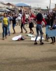 Ondo University students block roads, protest fees hike
