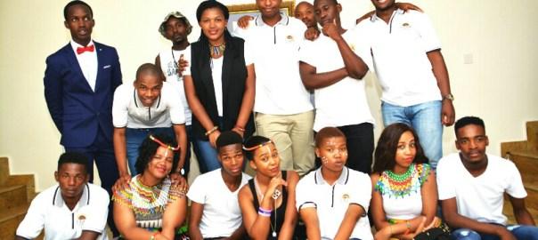 South African Students of AUN celebrating Winnie Mandela