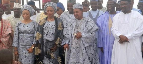 Alaafin of Oyo, Lamidi Adeyemi III arriving Maiduguri