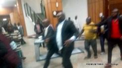 How thugs stole Senate mace